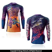 93 Brand UFOmoplata 7/8 Sleeve Rash Guard
